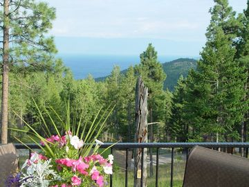 Somers house rental - View from deck