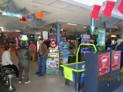 Arcade with over 80 games