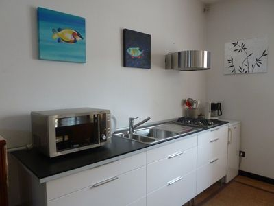 Padua house rental - Open Space: Kitchenette
