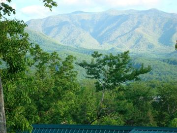 Mount LeConte and the National Park from our wrap-around deck