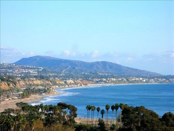 Dana Point house rental - Actual ocean view from deck overlooking Doheny Beach
