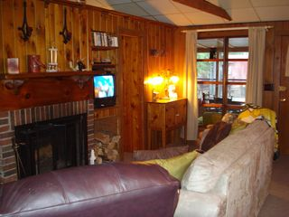 Lakewood cabin photo - Living room view