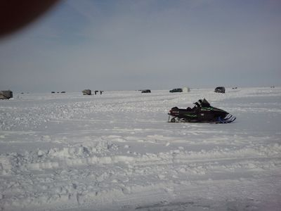 Winter fun on Lake Winnebago