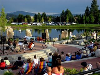Coeur d 'Alene condo photo - Summer Concerts in neighborhood Park.