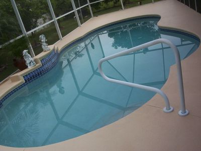 Heated pool with optionol child safty fence