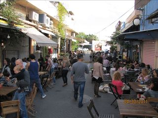 Tel Aviv apartment photo - Flea Market Resturants and Bars- 2 min from apartment