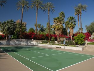 Indian Wells estate photo - Private tennis court on one acre estate