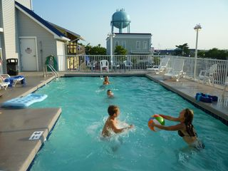 Bel Mare Ocean City condo photo - Have fun with the kids in the pool!! Kids and big kids LOVE the pool!!