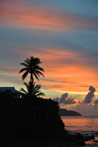 St. Croix villa rental - Watch Beautiful Sunsets from the deck every evening