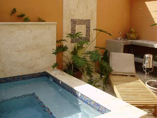 Condado house photo - The pool has a water fall Eight Therapies to enjoy and... RELAX!