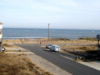 Kitty Hawk house photo - Ocean view from the top deck.