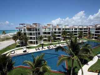 Playa del Carmen condo photo - The Elements sits beachside