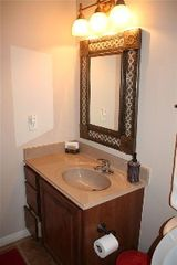 New Braunfels condo photo - Second Bath Area With Authentic Mexican Mirror