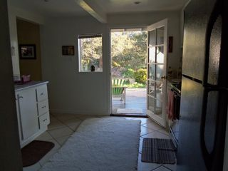 Monterey house photo - Enjoy lunch on the veranda with easy access from the kitchen...