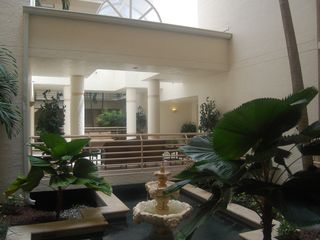 Les Falls condo photo - Beautiful open fl lobby with plenty of tropical plants.
