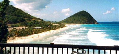 Tortola villa rental - Our ever changing calendar view.