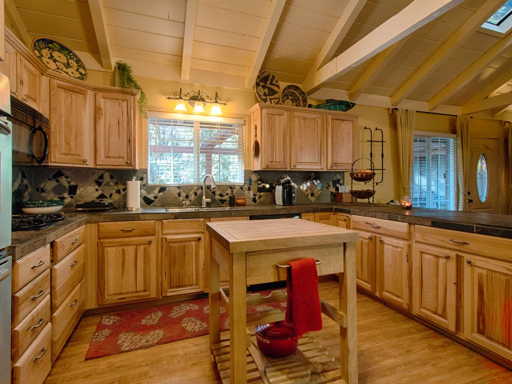 Cabinet Kitchen On Pinterest Hickory Cabinets Hickory Kitchen Cabinets
