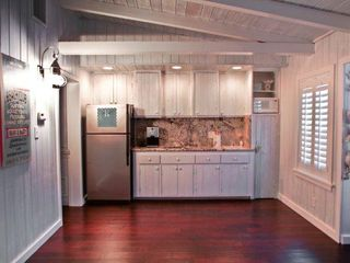 Siesta Key cottage photo - Kitchen Area - Fridge, Sink, Cook Top, Microwave