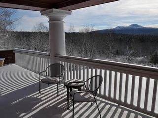 Tannersville farmhouse photo - The View in winter.
