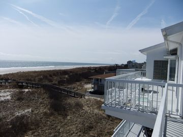 View From The Oceanfront Deck