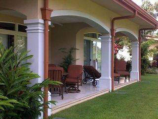 Los Suenos Resort condo photo - The patio gives directly onto the gardens and golf course in quiet surroundings.