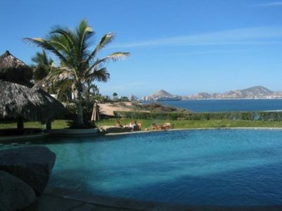 Infinity Pool with awesome view of Land's End