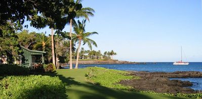 Shoreline at the Mauna Lani