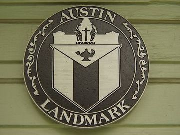 The home is also a State of Texas landmark