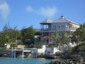 Great Exuma house rental - Thevine house: by the ocean, private & quiet location !