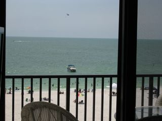 Seawinds condo photo - Fun on the beach looking from inside the condo