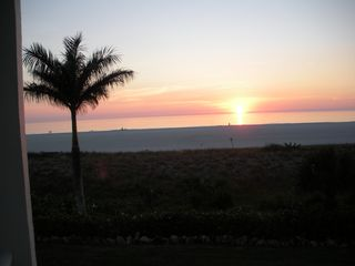 Gulfview Club condo photo - Sunset from your beachfront oasis