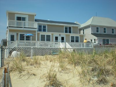Salisbury Beach townhome rental - View from Beach