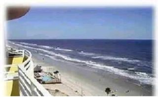 Daytona Beach condo photo - Watch the kids on the beach from your balcony
