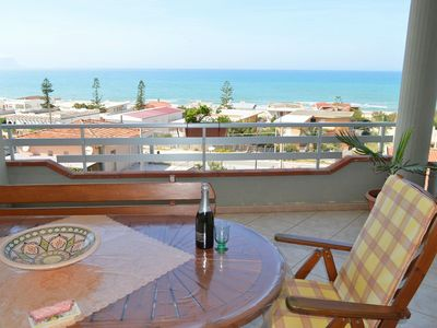8 Beds Attic with panoramic view, 150 meters from the beach