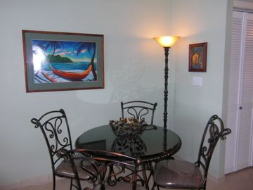 Dining Area In Great Room or Dine on Lanai With Ocean Breezes
