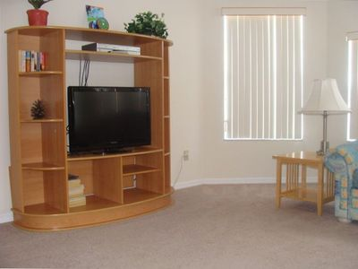Front room and Flat screen TV