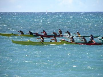 You Can always try outrigger Canoeing
