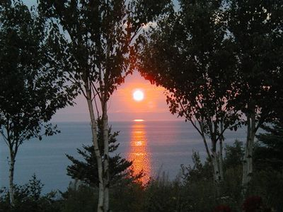 Located at on the Bras d'Or Lake with spectacular sunsets