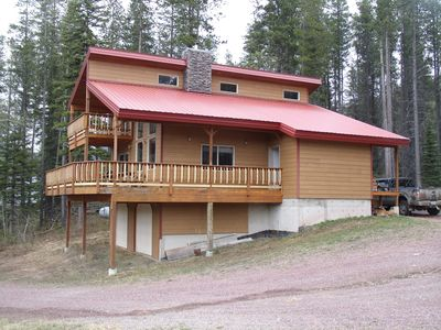 Beautiful Mountain Home with Great Views. Minutes from E.Glacier and Essex.