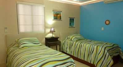 Villa 324: Third bedroom. Twin beds that can convert into a king size bed.