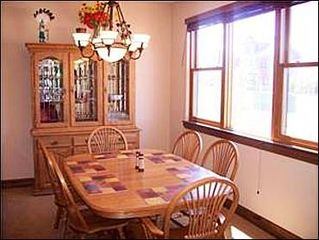 Baldy Mountain Breckenridge house photo - Dining area for 6 people