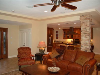 ceiling fans throughout home. Central Air keeps you cool too.