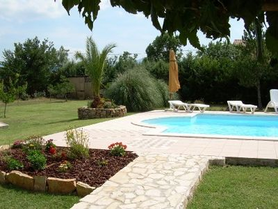 Provencal villa with pool, all mod cons
