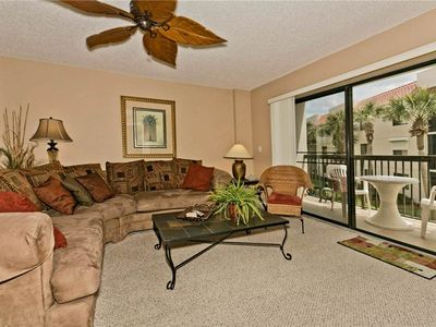 Step into our beautifully decorated living room - Step into our beautifully decorated, sink into the plush sectional, and enjoy every minute of your Florida vacation.