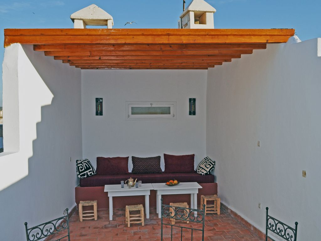 Charming privatised riad Essaouira historic centre ideal for group get-togethers