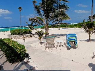 Grand Cayman condo photo - Outside the lanai, steps to the sea!!