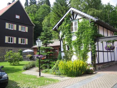 Holiday house Hirschgrund - overnight stay in the old half-timbered house