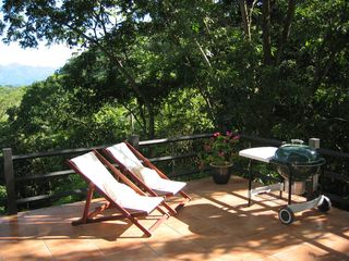 Manuel Antonio villa photo - Balcony off main living area