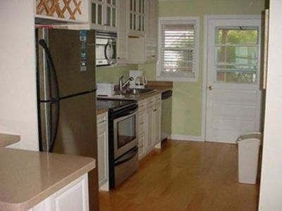 Kitchen comes complete with dishwasher so you can enjoy your vacation.