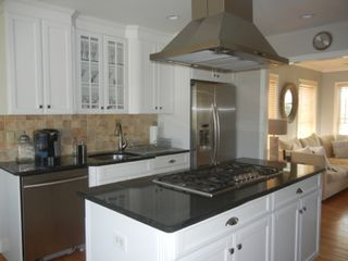 Water Mill house photo - Stainless steel kitchen recently renovated